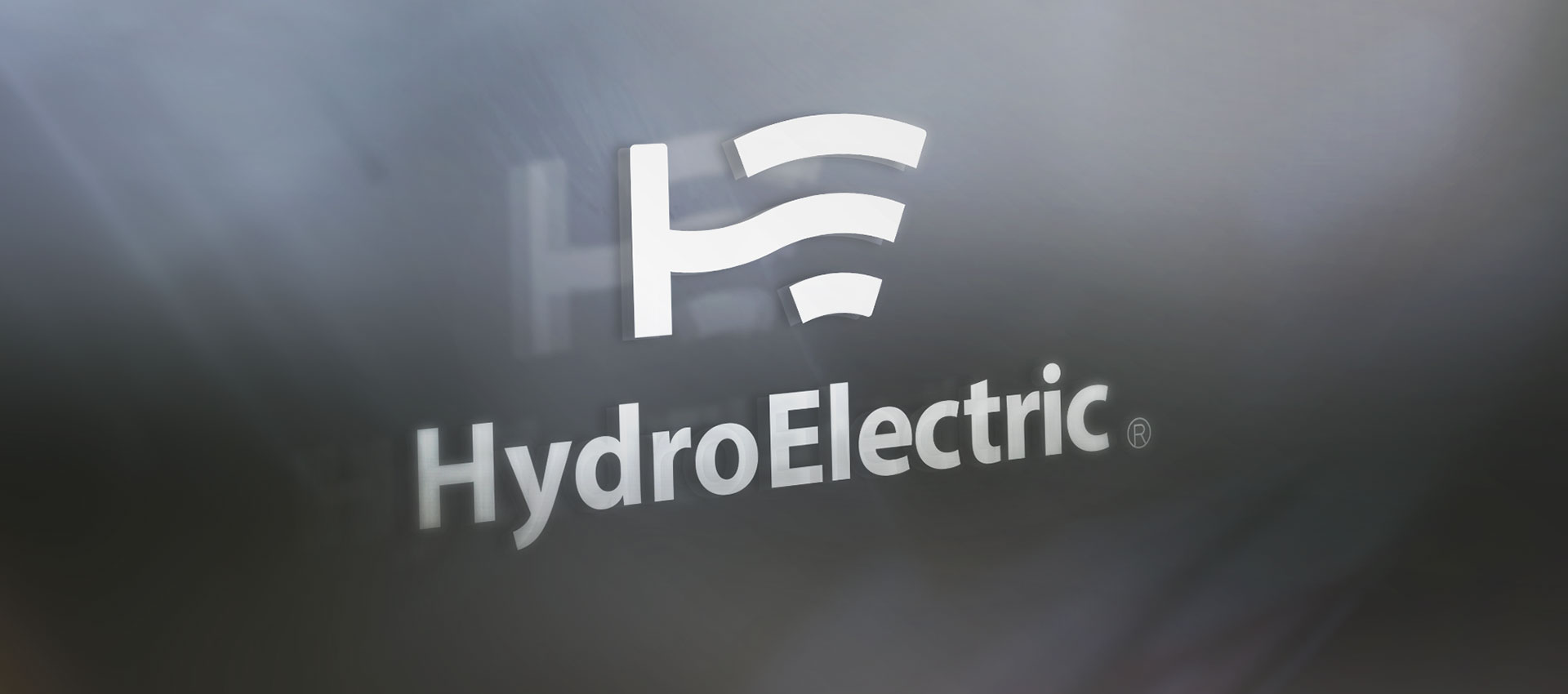 hydro electric logo perspective