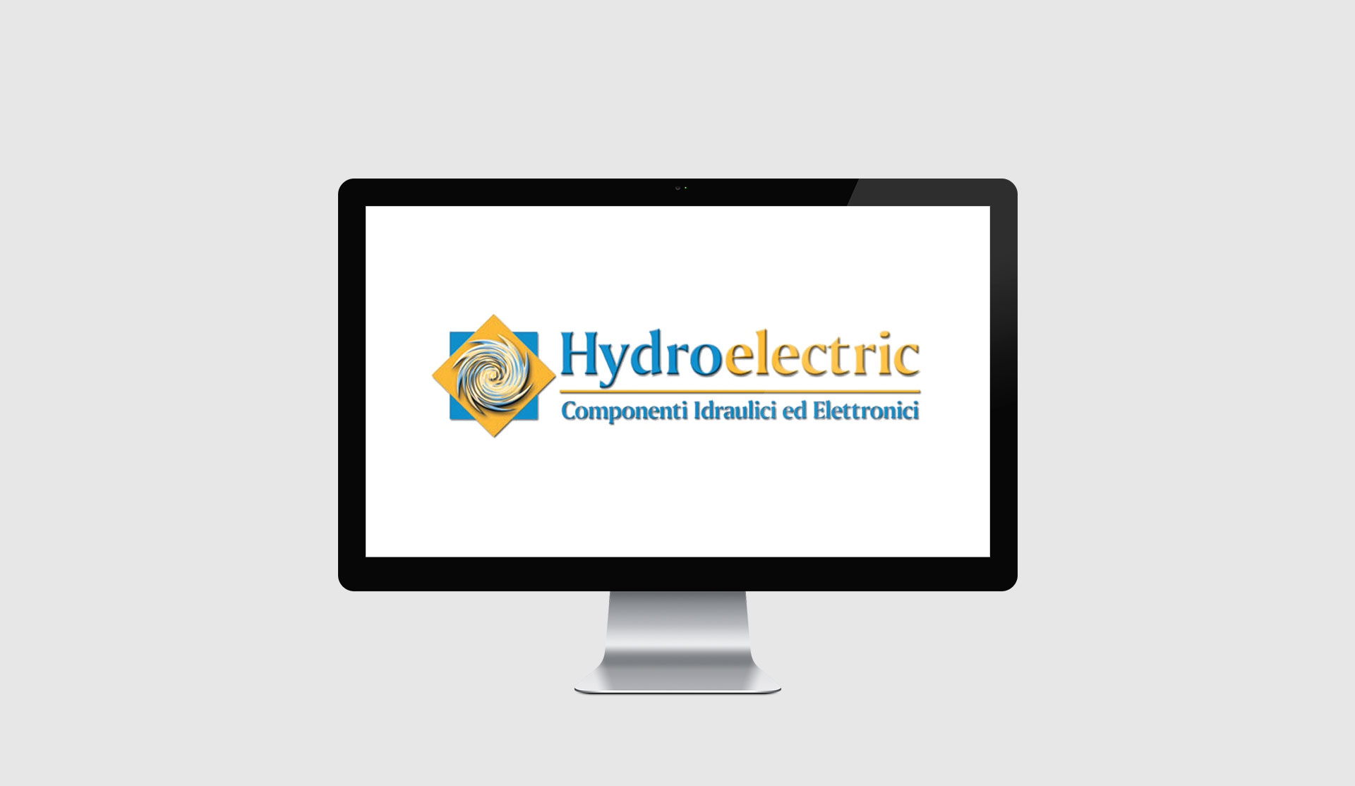 hydro electric old logo version redesign
