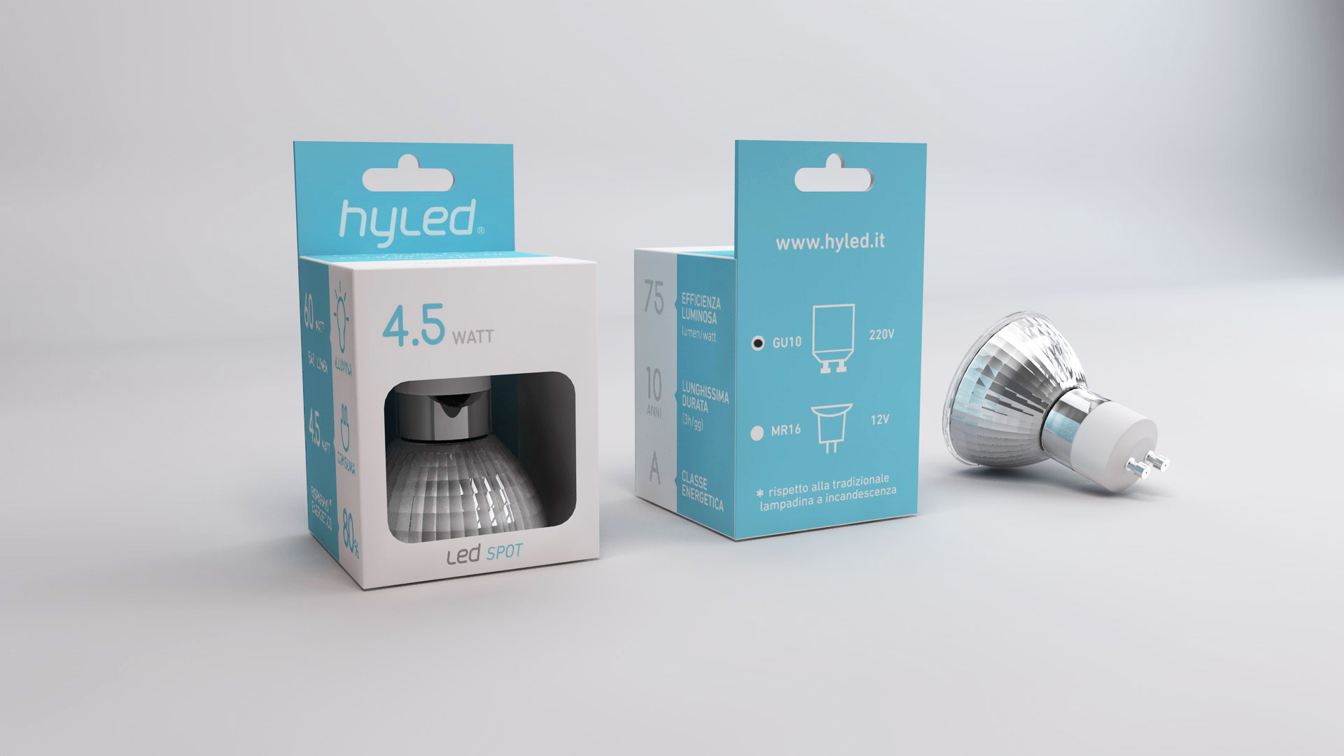 hyled led packaging