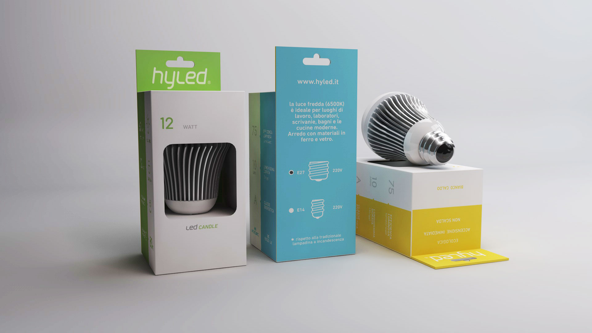 hyled packaging led bulb
